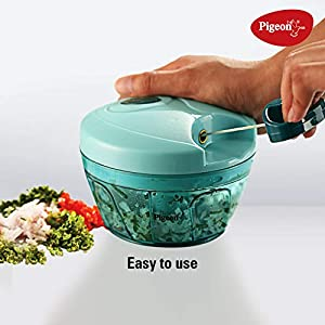 Pigeon-by-Stovekraft-New-Handy-Mini-Plastic-Chopper-with-3-Blades-Green