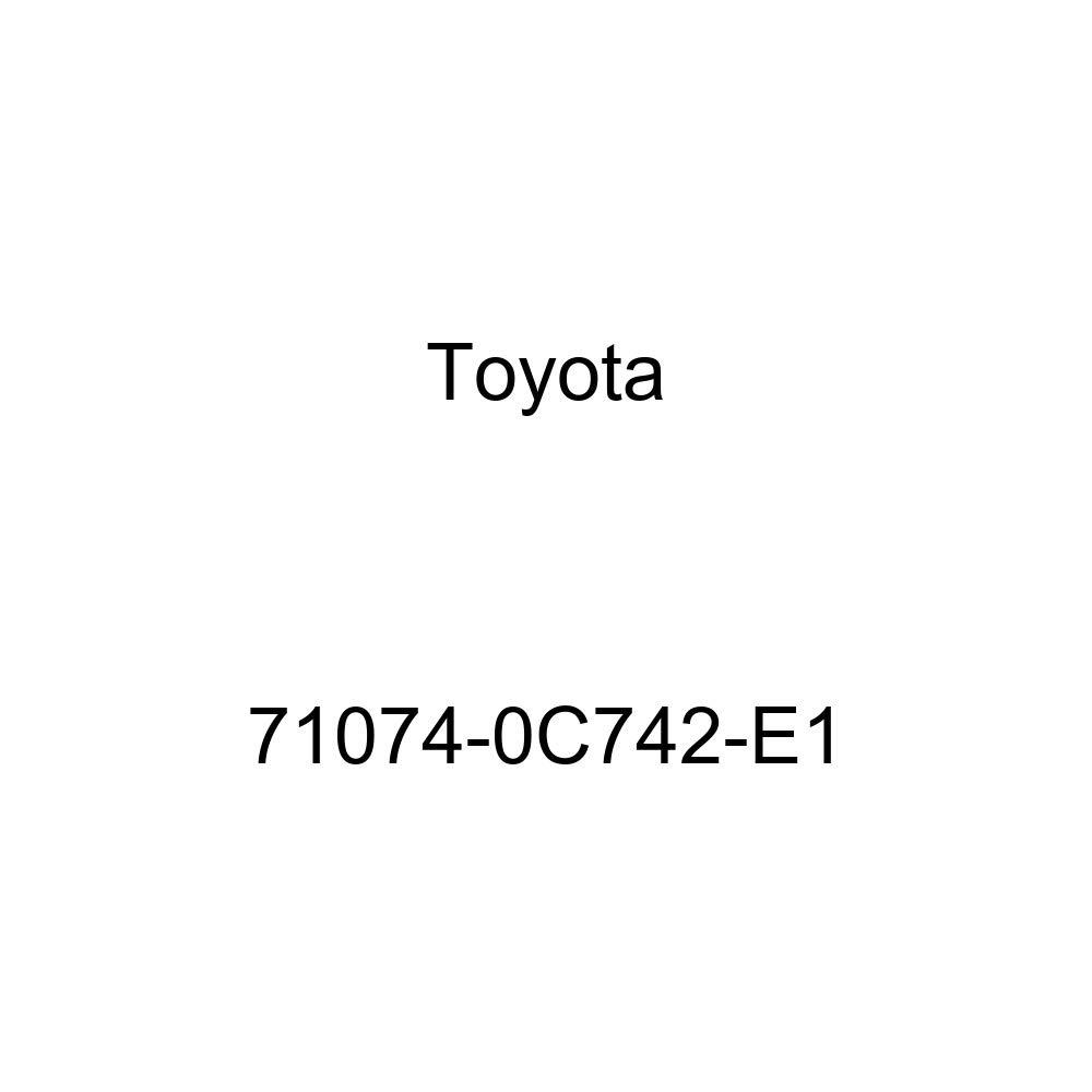 TOYOTA Genuine 71074-0C742-E1 Seat Back Cover