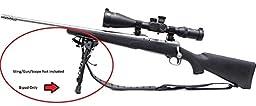 X-Aegis 2 in 1 Rifle Bipod 6\
