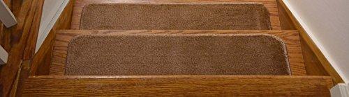 "UPC 685784257606, RugStylesOnline SHM-ST-8x30-BEIGE-2 Comfy Collection Stair Tread Treads Indoor Skid Slip Resistant Carpet Stair Tread Treads Machine Washable, 30"" L x 8.5"" W, Beige, Set of 2"