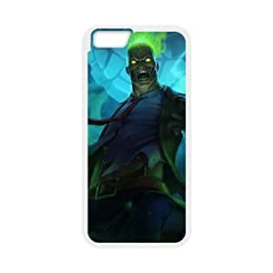 iPhone 6 4.7 Inch Cell Phone Case White League of Legends Zombie Brand LM5631915