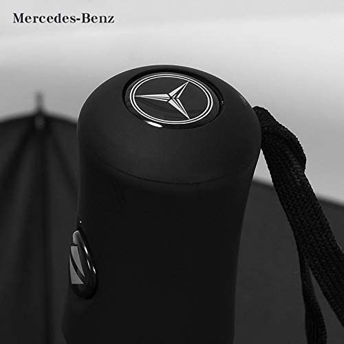 Mercedes-Benz IHEX Auto Open Large Folding Umbrella Windproof Sunshade with Car Logo