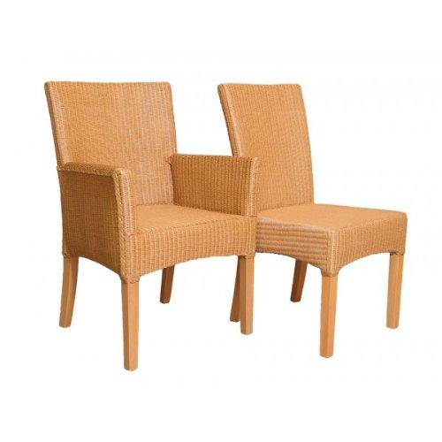 4 x Silla de comedor silla Bilbao Loom de trenzado Loom ...
