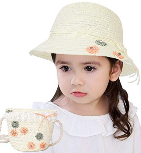Precious straw hats for young girls