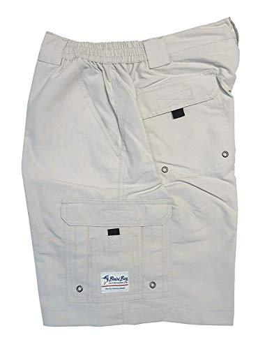 Bay Boca (Bimini Bay Outfitters Boca Grande Short II Bloodguard, Color: Cement, Size: 44 (31710-C-44))
