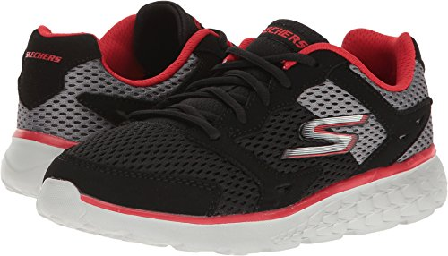 SKECHERS KIDS Boy's Go Run 400 (Little Kid/Big Kid) Black/Grey/Red Shoe