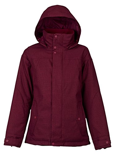 Burton Women's Jet Set Jacket, Sangria, Small (Women Snowboarding Set)
