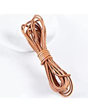Genuine Leather Cord, Strip Cord Braiding String, Natural Leather Lace, Soft Real Jewelry Leather Cord, Genuine Leather Cording