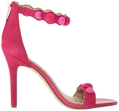 Edelman Sandales Pink Femme Magenta Sandales Sam Compensées Compensées Addison Femme Addison Edelman Sam xYqwg8pgP