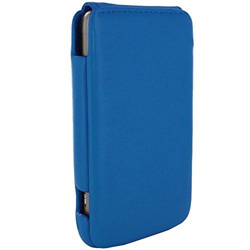 Piel Frama Wallet Case for HTC Thunderbolt - Blue by Piel Frama