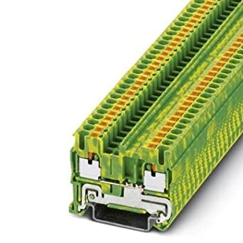 DIN Rail Terminal Blocks PT 2 5-PE (1 piece): Amazon com