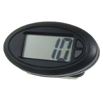 Reloj Digital DealMux salpicadero Desk LCD w Volver auto adhesivo: Amazon.es: Hogar