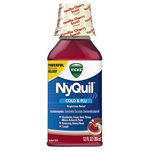 Vicks NyQuil Nighttime Relief Vanilla product image