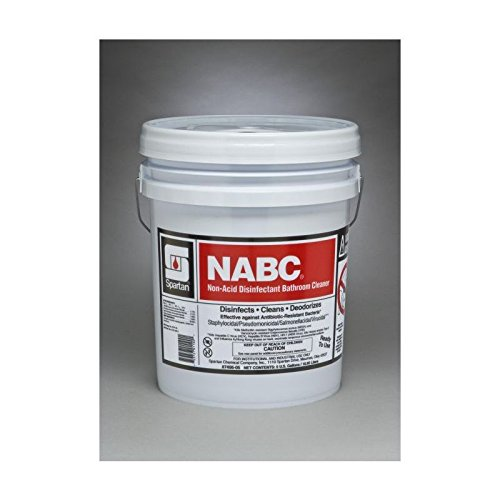 Spartan NABC Restroom Cleaner, Pail, 5 gal Pail