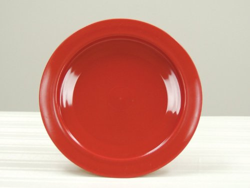 Fabrication Inner Lip Plate, Plastic, Red, 9 Inch
