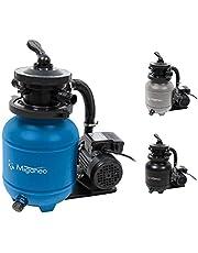 Miganeo 40385 Sandfilteranlage Dynamic 6500 Pumpleistung 4,5m³ blau, grau, schwarz, für Pool Schwimmbecken