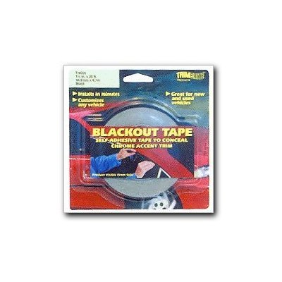 Trimbrite T9005 Black Out Tape product image