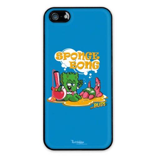 Diabloskinz H0081-0066-0066 Spongebong Schutzhülle für Apple iPhone 5/5S