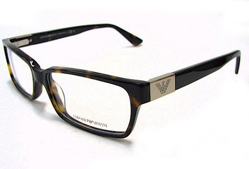 cc983bd8c03 EMPORIO ARMANI EA 9594 Eyeglasses Dark Havana 086 Optical Frame   Amazon.co.uk  Clothing