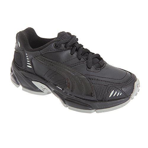 Junior marking Boys Junior Non Lace Trainer Puma Black Black Axis Hammer Lace Trainer dvqHHxg0w