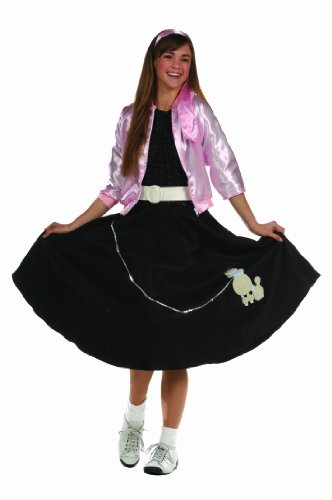 - RG Costumes Women's Poodle Skirt, Black, One Size