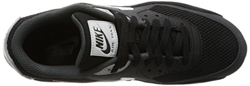 NIKE Air Noir Max wolf 90 Grey White Essential Mode anthracite Baskets Homme Black w4waq