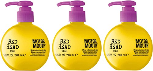 - TIGI Bed Head Motor Mouth Volumizer, 8 Ounce (Pack of 3)