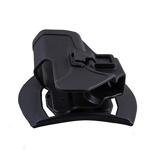 Holster de Ceinture - IMAGE Etui de Revolver pour Glock 17/22/31 - conçu pour Main droite - Holster de Pistolet, Airsoft… 4