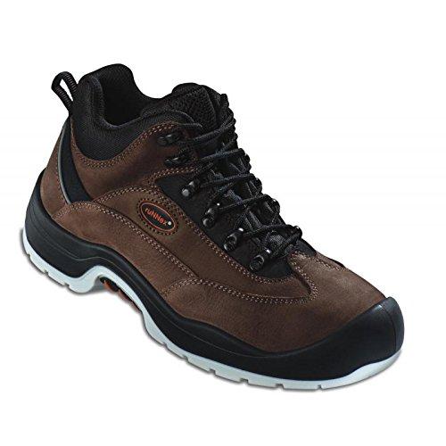 RuNNex chaussures de sécurité s3 5303 «bGR teamStar bottillons 191, marron, marron, 5303