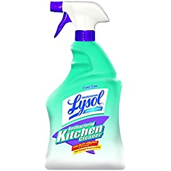 Lysol Professional Antibacterial Kitchen Cleaner, Citrus Scent, 32 oz