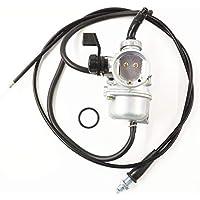 labwork-parts 48mm Carburetor & Throttle Cable for Honda...