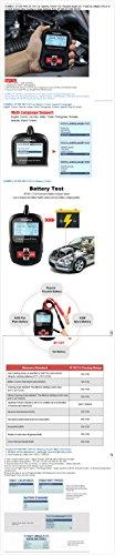FOXWELL BT100 PRO 6V 12V Car Battery Tester For Flooded AGM GEL 100 to 1100 CCA 200 AH Test 6 V 12 Volt Automotive Analyzer New by YARUIFANSEN (Image #7)