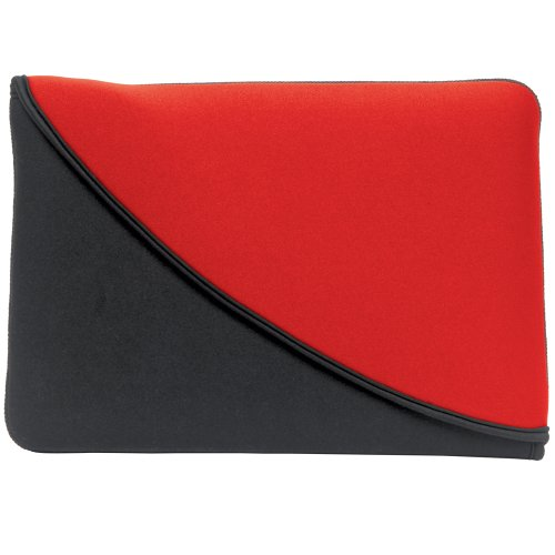 (PC Treasures FlipIt! Reversible Sleeve for 10-Inches Neoprene Tablet PC - Red/Black (07102))