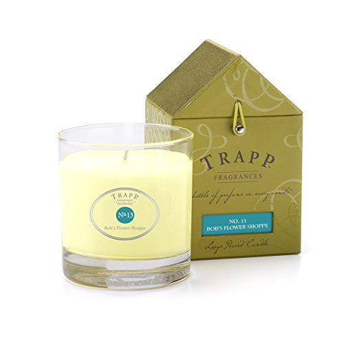 - Trapp - No. 13 Bobs Flower Shoppe 7 oz Poured Candle-2 per case