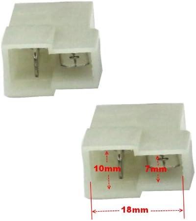 AERZETIX 2X CONNECTEURS FICHES Enceintes Haut-PARLEURS pour Nissan Suzuki Ford Mondeo C1864