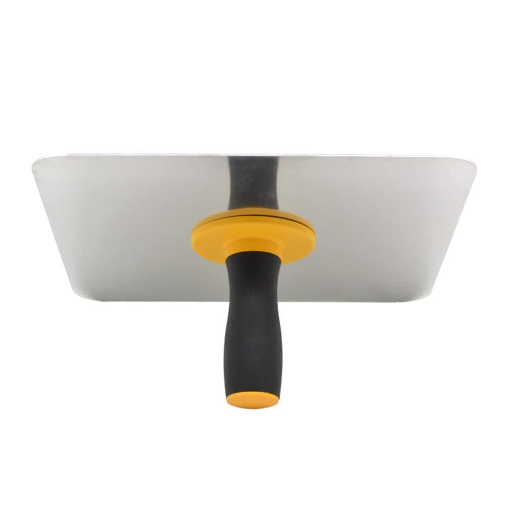 INGHU Gipser-Falken Free Size Hawk Aluminium Farbe mit Griff zum Verarbeiten von Putzwerkzeug Kelle mit Griff Siehe Abbildung M/örtelbrett Heimdekoratoren Gips