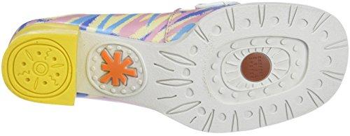 Varios 2 Mujer para Colores 0079f de con Art Zapatos Cerrada Arlekin Bristol Fantasy Tacón Punta 4P6wgATq