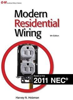 modern residential wiring harvey n holzman nancy henke konopasek rh amazon com Modern Residential Wiring NEC 2011 Modern Residential Wiring Workbook Answers