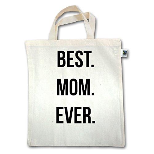 Henkel Muttertag Best Jutebeutel Natural Unisize Ever XT500 kurzer Mom AUaAS8