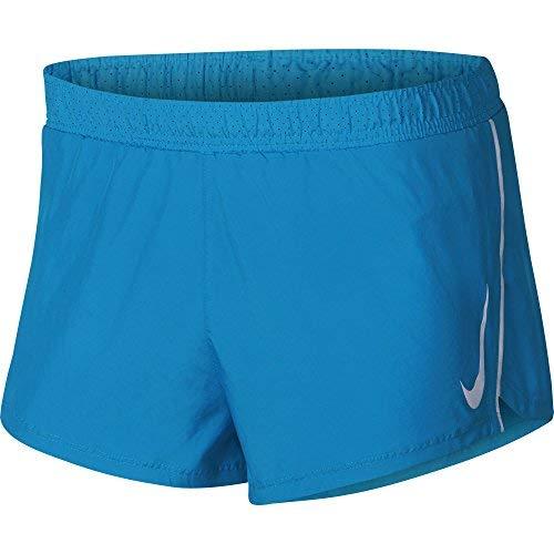 NIKE Men's Fast 2in Running Split Shorts Equator Blue/Obsidian ()