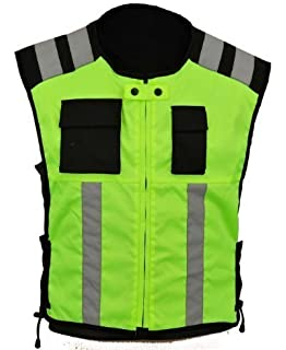 44-48 Richa Sleeveless Safety Motorcycle Jacket XL//2XL//3XL Fluorescent
