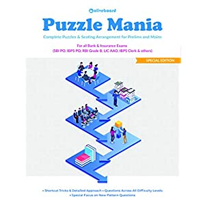 Puzzle Mania: Puzzles & Seating Arrangement for Prelims & Mains