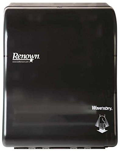 Renown REN05164-WB High Performance Touch-Free Controlled Towel Dispenser, Plastic, 12.8'' x 16.1'' x 12.6'' by Renown