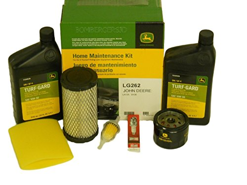 John Deere Orginal Equipment Fiiter Kit LG262 (John Deere 125 Lawn Tractor Oil Filter)