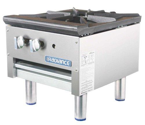Turbo Air Radiance TASP-18S Single Burner Stock Pot Range with Crumb (Burner Stock Pot Range)