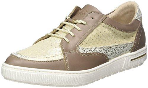 Be Natural Damen 23610 Sneakers Beige (SAND 355)