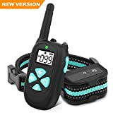 BESTHING Dog Training Collar with Remote, 1450ft Remote Dog Shock Collar, 100% Waterproof, Beep/Vibra/Electric Shock 1-100 Levels For Sale