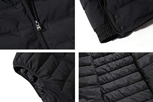 Cotton Winter E Vest couleur L Taille Autumn Zjexjj Noir qCSdq