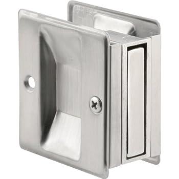 Prime Line Products N 7079 Pocket Door Passage Pull Satin