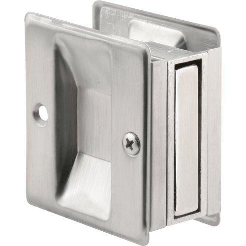 N 7079 Pocket Door Passage Pull, Satin Chrome ()